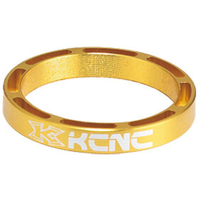 "KCNC Hollow Design Spacer t. styrfitting 1 1/8"" 3/5/10/14/20mm, gold"